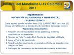 festival del mundialito u 12 colombia 20113