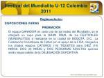 festival del mundialito u 12 colombia 20117