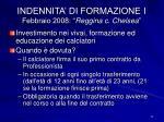 indennita di formazione i febbraio 2008 reggina c chelsea