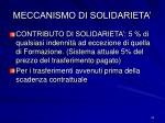 meccanismo di solidarieta