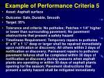 example of performance criteria 5
