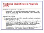 customer identification program cip1