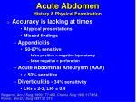 acute abdomen history physical examination1