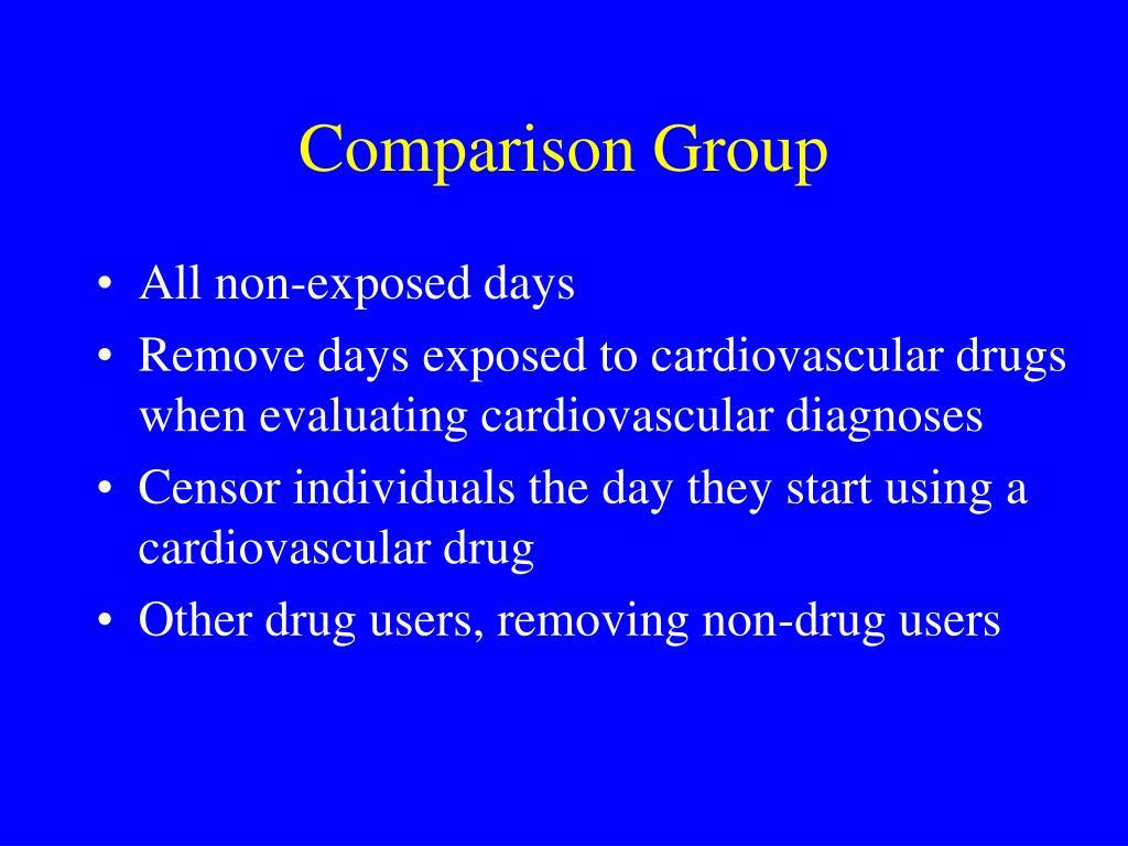 Comparison Group