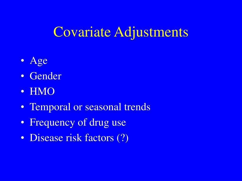 Covariate Adjustments