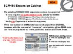 bcm450 expansion cabinet