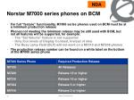 norstar m7000 series phones on bcm