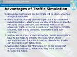 advantages of traffic simulation1