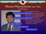 dharma wijewickreme aka wiji soil mechanics