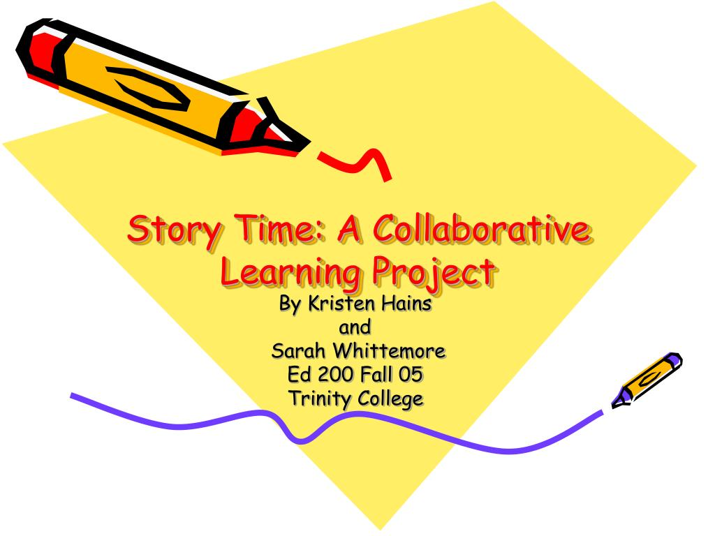 story time a collaborative learning project