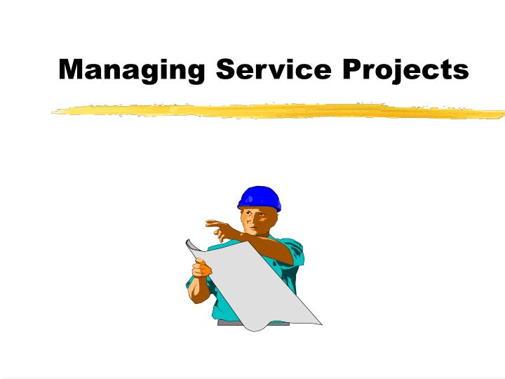 managing service projects n.