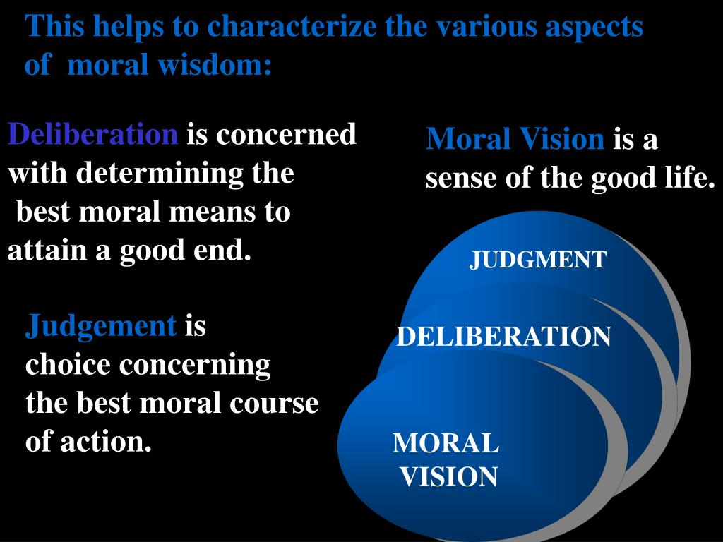 This helps to characterize the various aspects