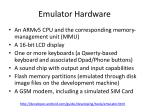 emulator hardware