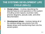the systems development life cycle sdlc2
