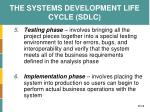 the systems development life cycle sdlc3