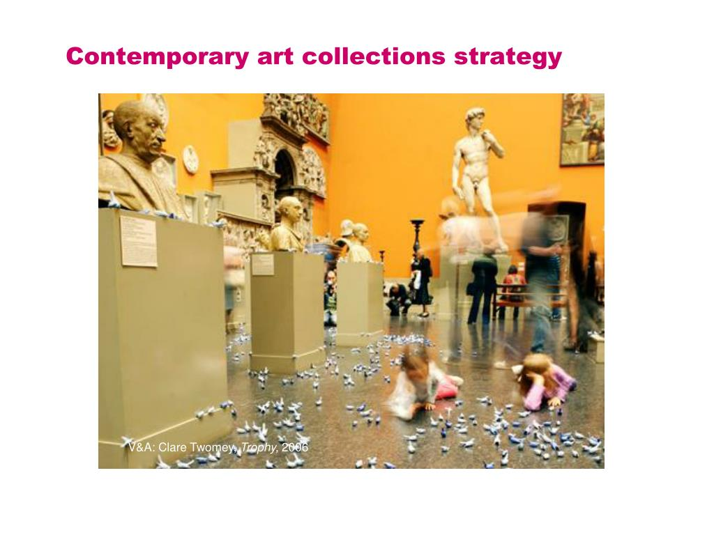 Contemporary art collections strategy