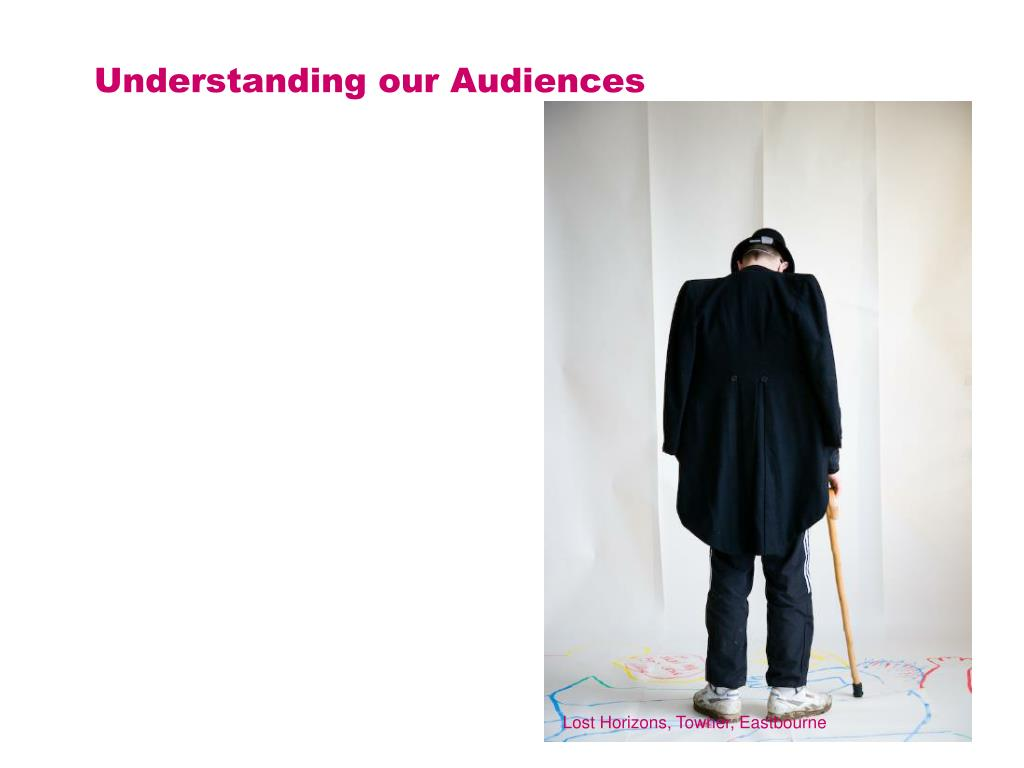 Understanding our Audiences