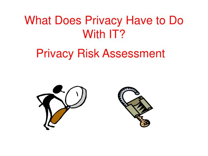 what does privacy have to do with it n.