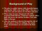 background of play