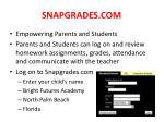 snapgrades com