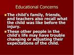 educational concerns1