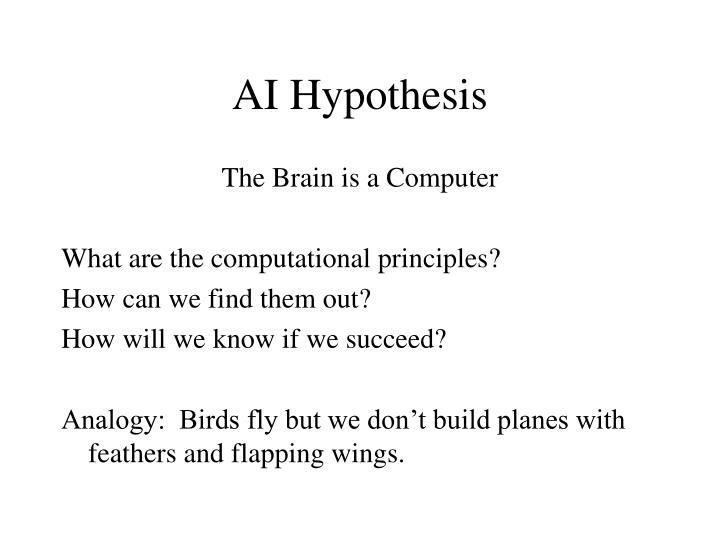 AI Hypothesis