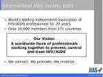 international aids society ias