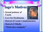 iago s motives1