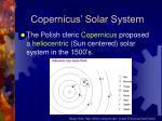 copernicus solar system