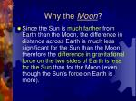 why the moon1