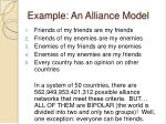 example an alliance model1