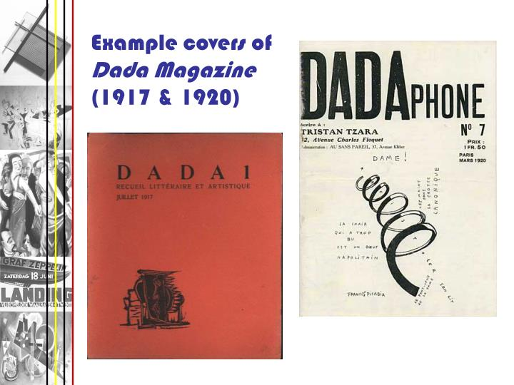 Example covers of