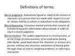 definitions of terms