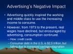 advertising s negative impact40