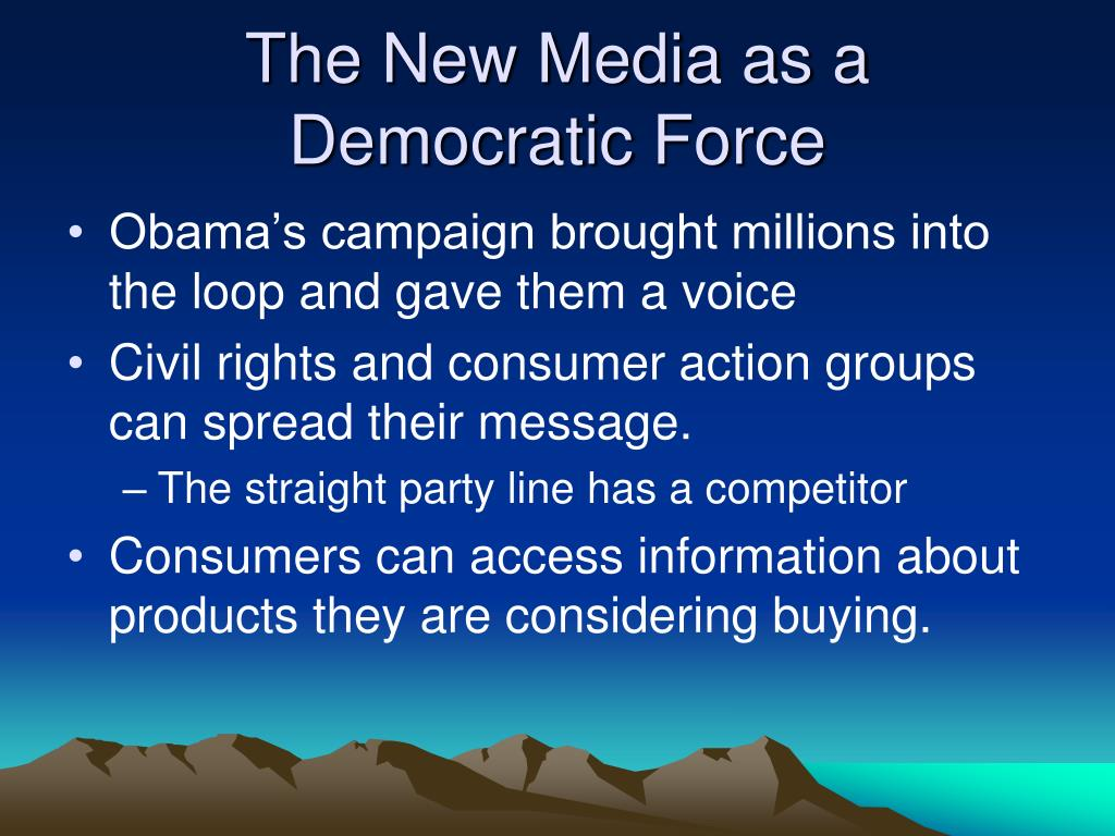 The New Media as a
