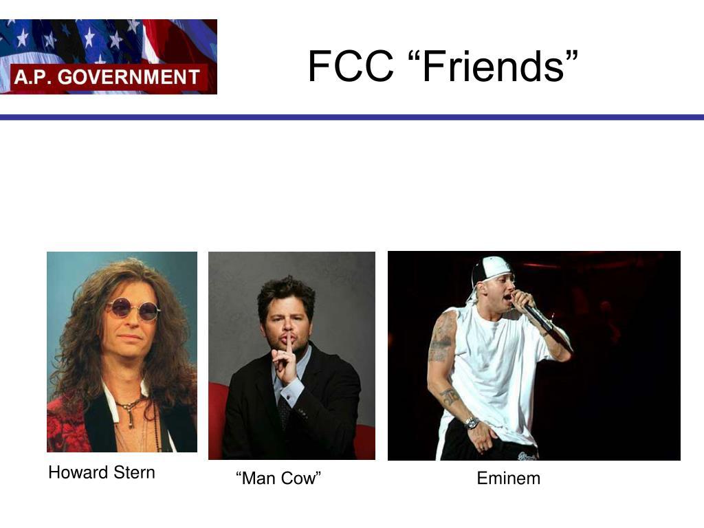 "FCC ""Friends"""