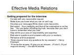 effective media relations18