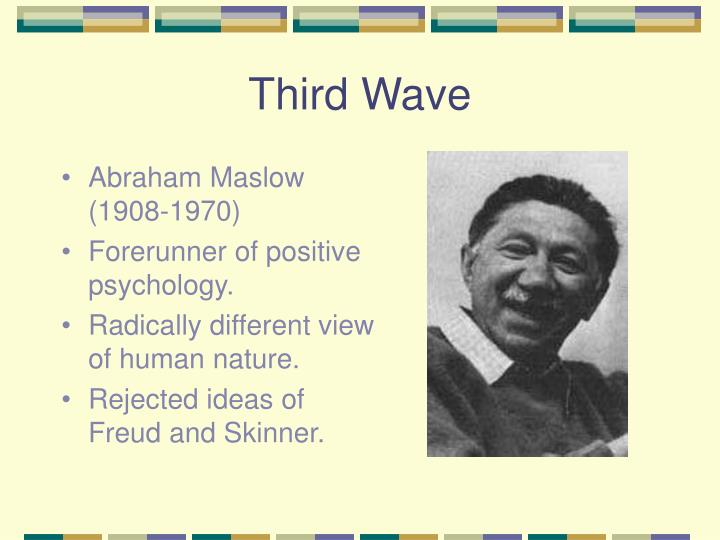 abraham maslow major contributions to psychology