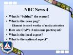 nbc news 4