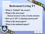 retirement living tv30