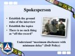 spokesperson23