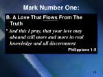 mark number one12
