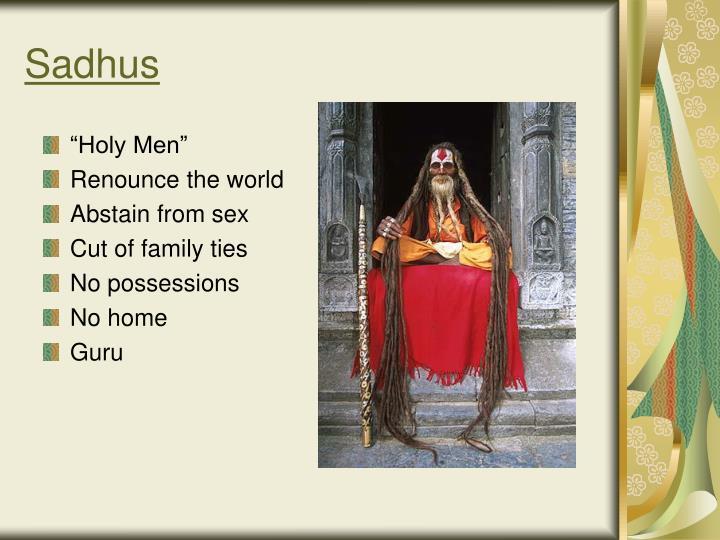 Sadhus