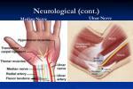 neurological cont