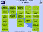 ese next tier science questions