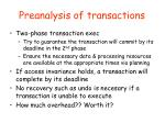 preanalysis of transactions1