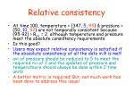 relative consistency3