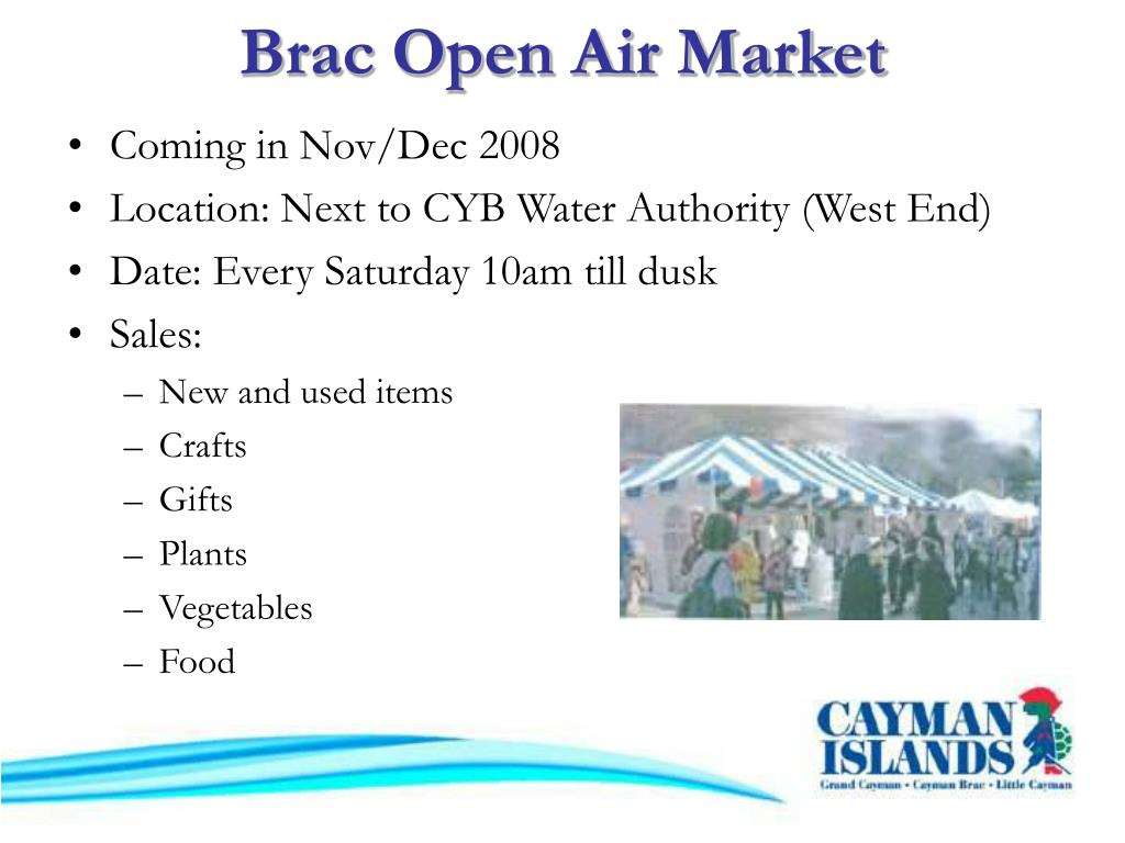 Brac Open Air Market
