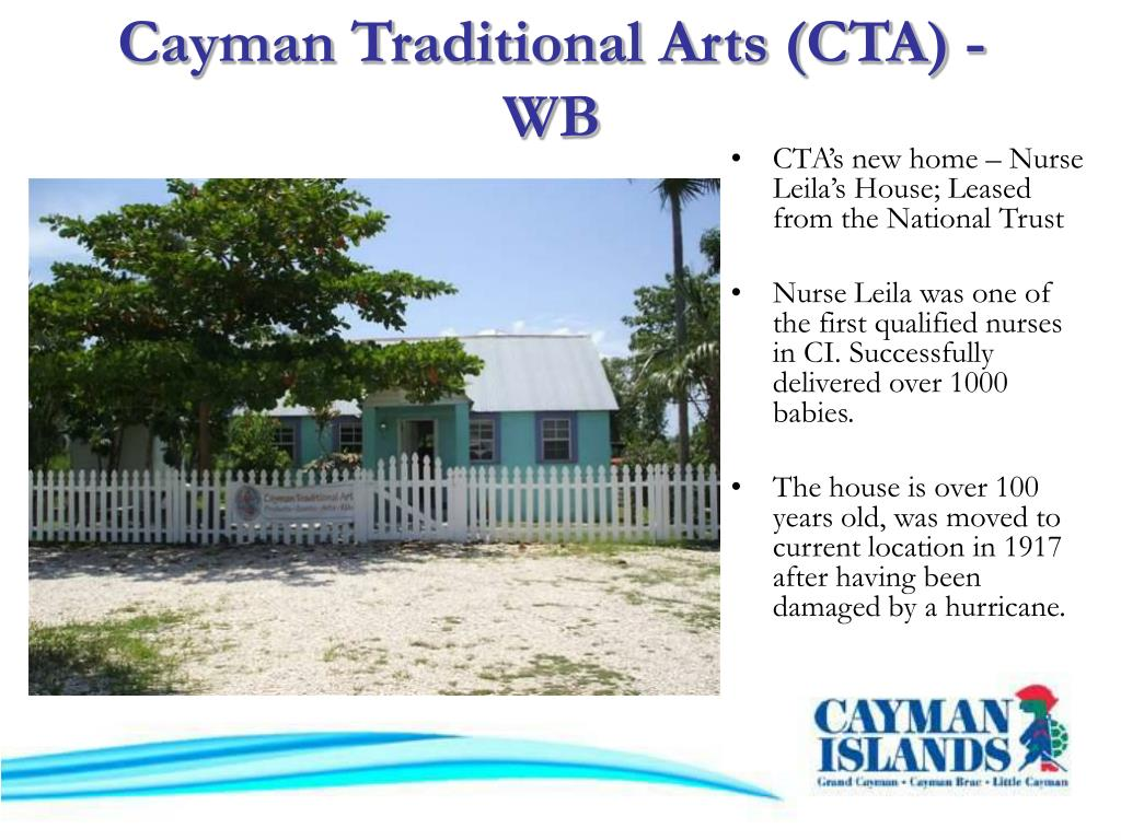 Cayman Traditional Arts (CTA) - WB