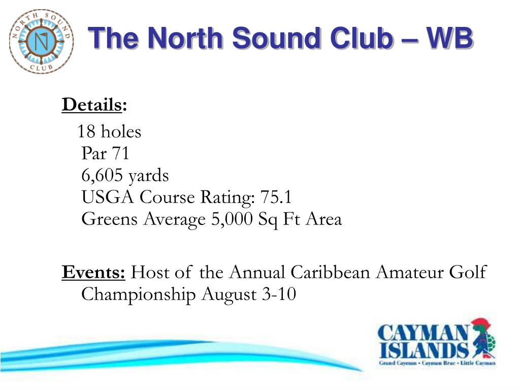 The North Sound Club – WB
